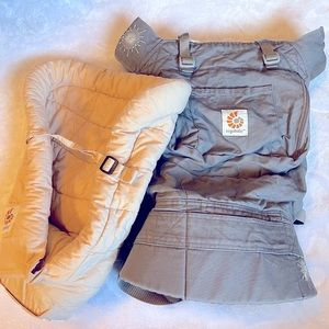 Ergobaby Original Baby Carrier and Infant Insert
